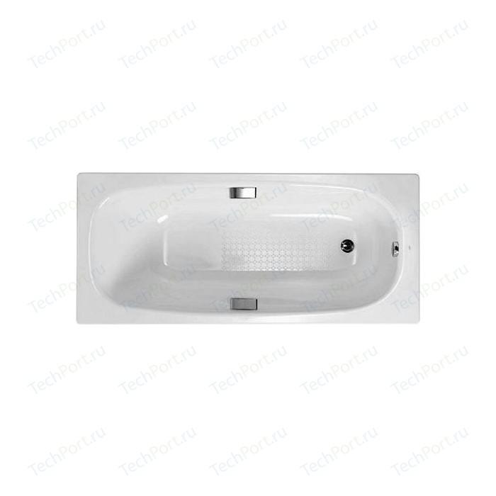 Ванна стальная Gala Vanesa 160х75 с ручками и звукоизоляцией (6736001/G6636001) ванна стальная gala vanesa 6735001 150х75 см