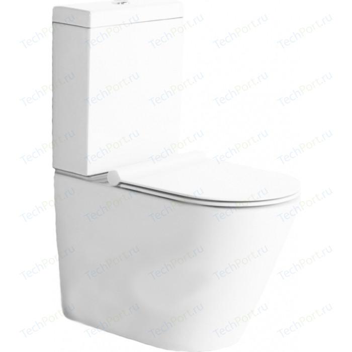 Унитаз (чаша) BelBagno Flay-R безободковый (BB007CPR)