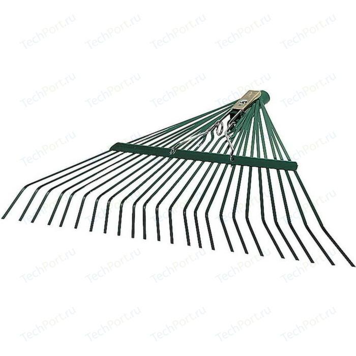 Грабли Raco веерные, усиленные, 24 плоских зубца 600 мм (4231-53/741)