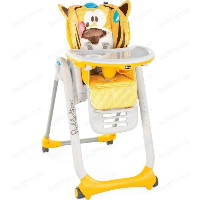 Стульчик для кормления Chicco Polly 2Start Jungle стульчик для кормления inglesina my time цвет sugar az91k9sgaru
