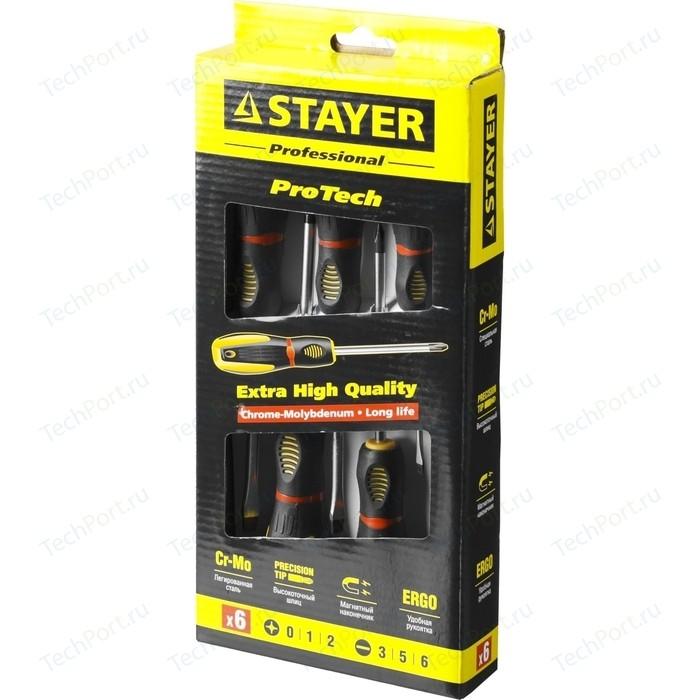 Набор отверток Stayer Professional PROTech 6 шт (25133-H6_z02)