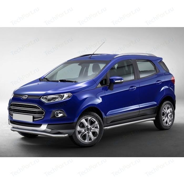 Защита переднего бампера d57 волна Rival для Ford Ecosport (2014-н.в.), R.1805.001