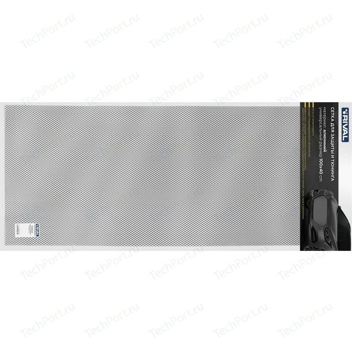 Универсальная сетка 1000х400 R10 Rival для защиты радиатора, черная, 1 шт. (индивидуальная упаковка), INDIV.ZS.1001.2