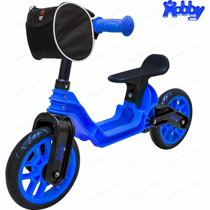 Беговел RT ОР503 Hobby bike Magestic blue black