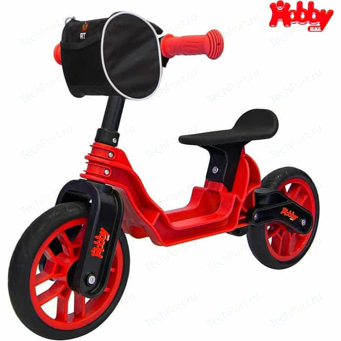 Беговел RT ОР503 Hobby bike Magestic red black