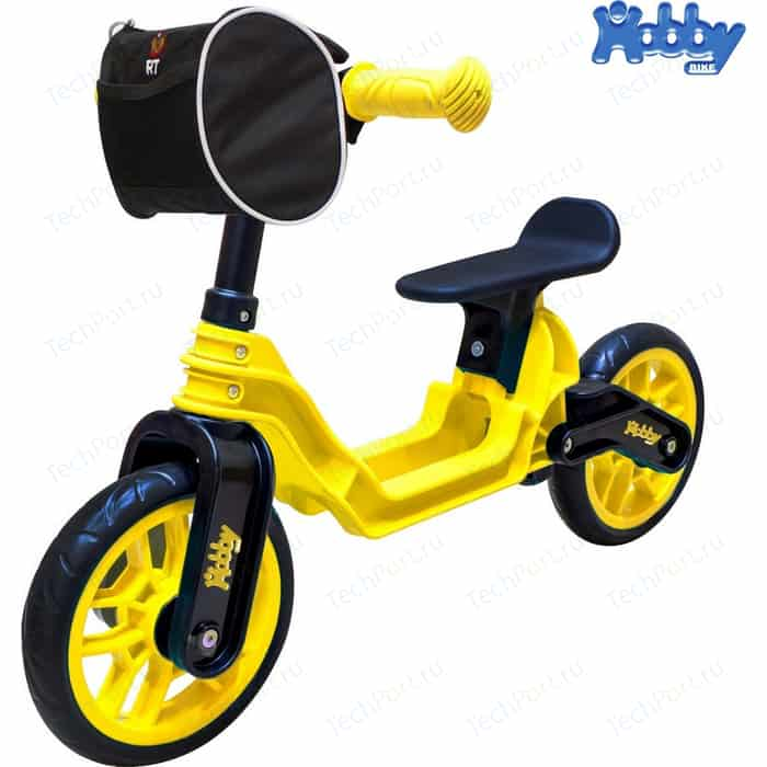 Беговел RT ОР503 Hobby bike Magestic yellow black