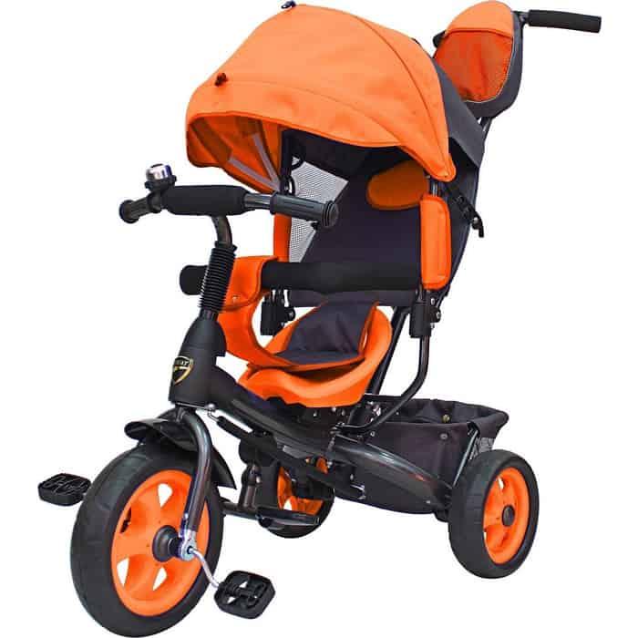 Велосипед трехколесный GALAXY Лучик VIVAT оранжевый