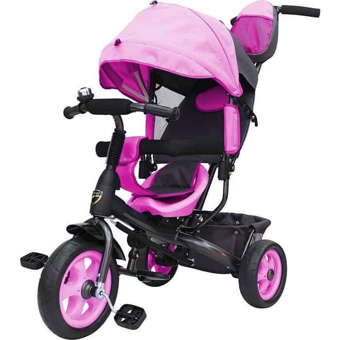 Трехколесный велосипед GALAXY Лучик VIVAT розовый