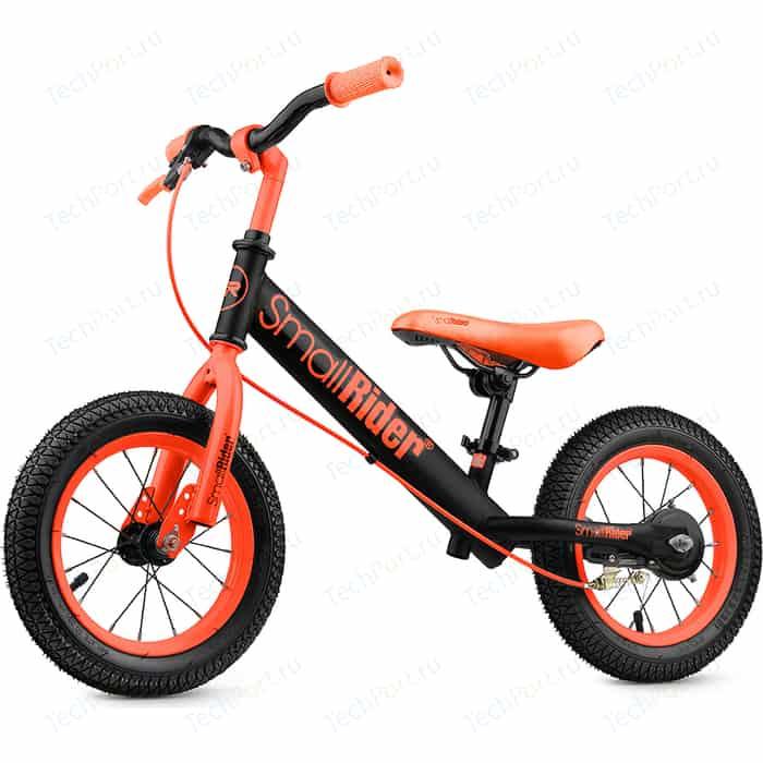 Беговел Small Rider с надувными колесами и тормозом Ranger 2 Neon (оранжевый) текстовыделитель тюбик neon оранжевый 2 5мм stabilo