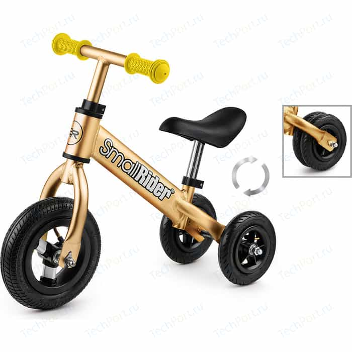 Беговел-каталка Small Rider для малышей Jimmy (золотой)