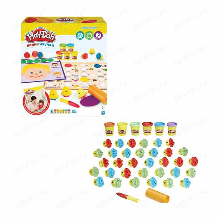 Игровой набор Hasbro Play-Doh БУКВЫ И ЯЗЫКИ