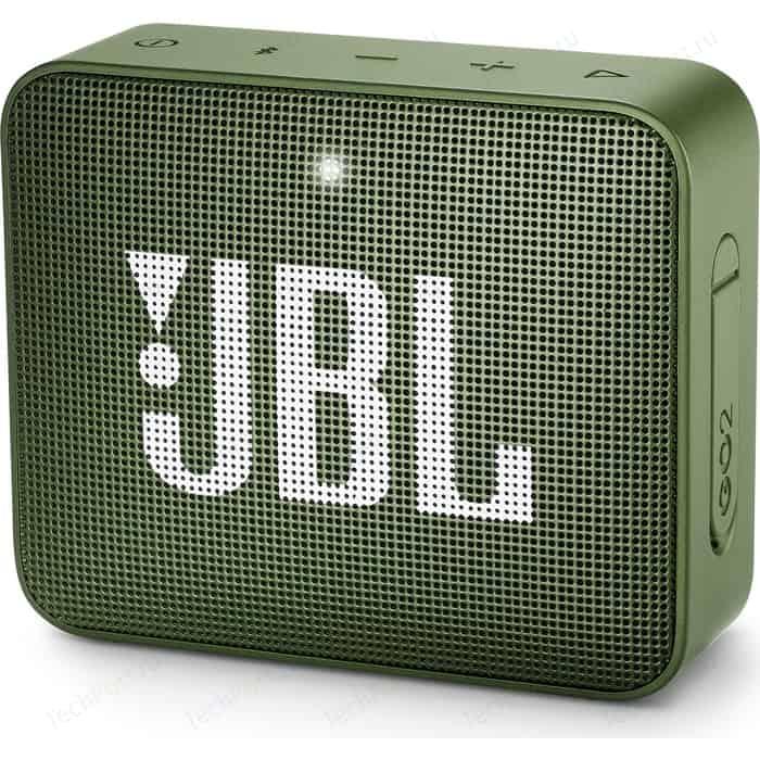 Портативная колонка JBL GO 2 green