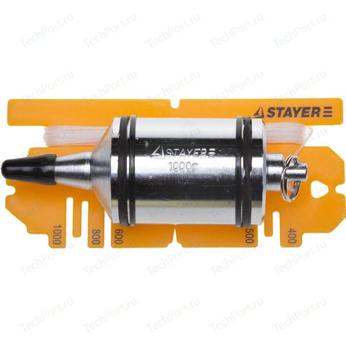 Отвес строительный Stayer Profi 1000г (06352-100)