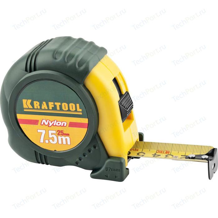 Рулетка Kraftool 7,5м х 25мм Expert (34122-08_z01)