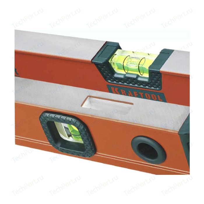 Уровень Kraftool Kraft-Max магнитный 2 ампулы 40см (34575-040) уровень kraftool kraft max 2 ампулы 180см 34721 180 z01