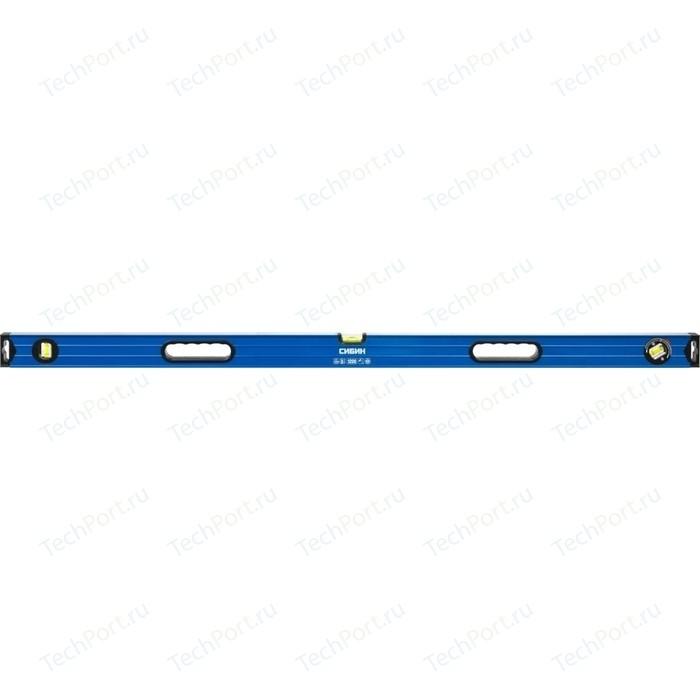 Уровень Сибин 3 ампулы с ручками (34609-120)