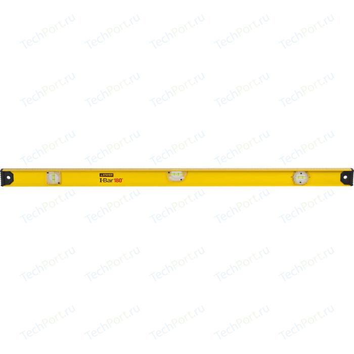 Уровень Stayer Master I-Bar Рельс 3 ампулы 120см (3470-120_z01)