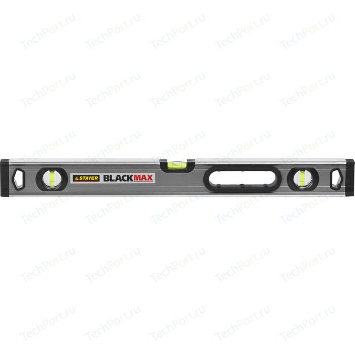 Уровень Stayer Professional BlackMax 0,5мм/м 3 ампулы 60см (3475-060)