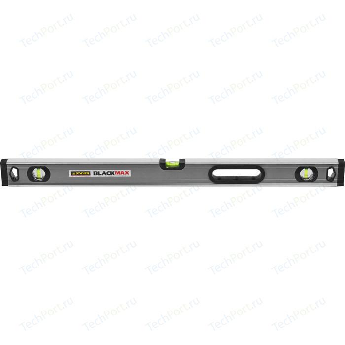 Уровень Stayer Professional BlackMax 0,5мм/м 3 ампулы 80см (3475-080)