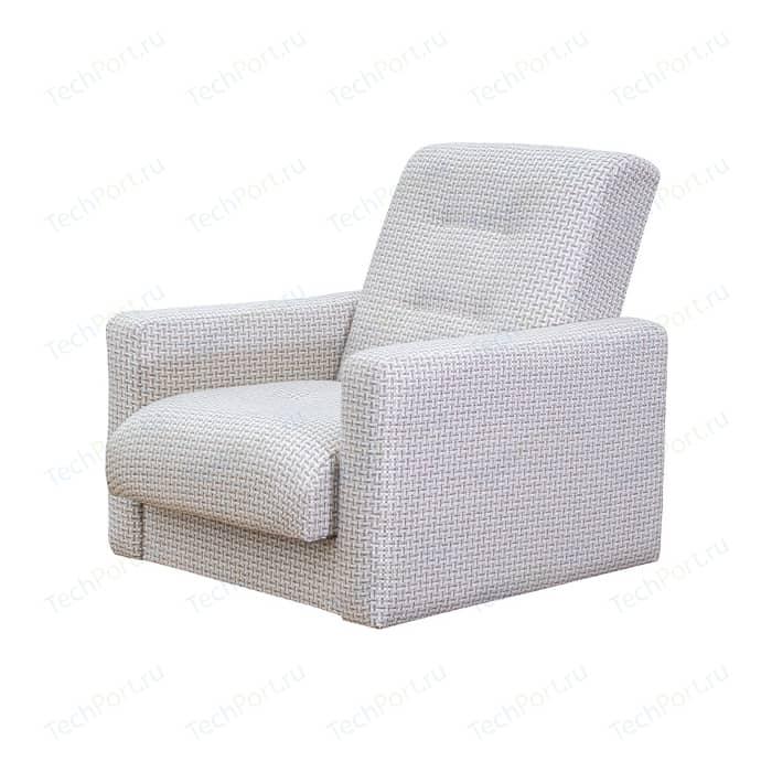 Кресло Экомебель Лондон-2 рогожка микс бежевая