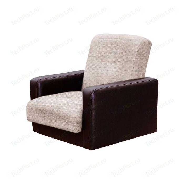 Кресло Экомебель Лондон рогожка бежевая.