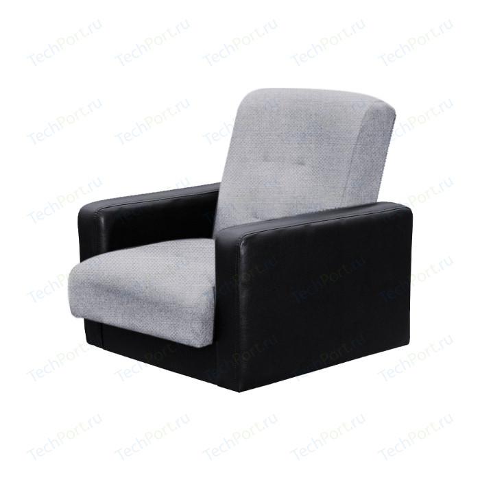 Кресло Экомебель Лондон рогожка серая.