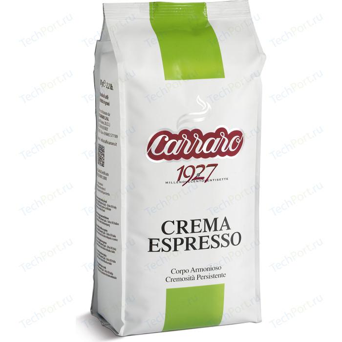 цена на Кофе в зернах Carraro Caffe Crema Espresso, вакуумная упаковка, 1000гр