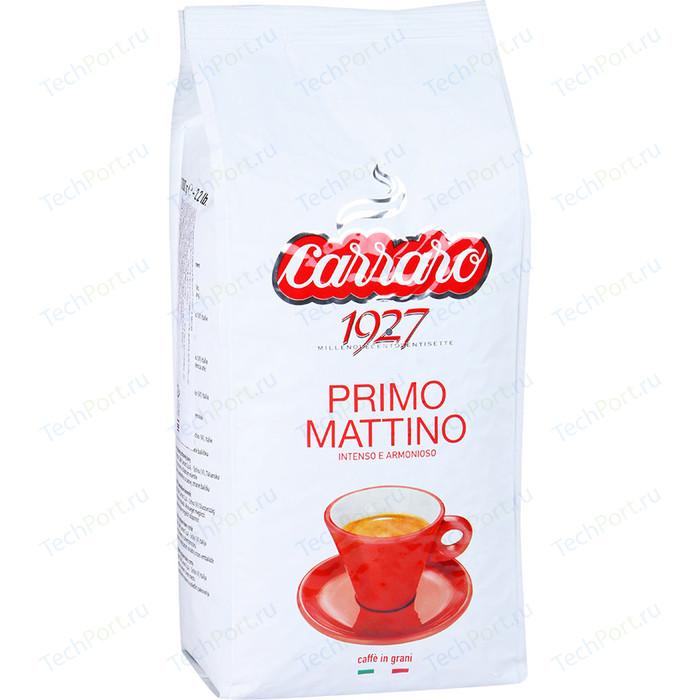 цена на Кофе в зернах Carraro Caffe Primo Mattino, вакуумная упаковка, 1000гр