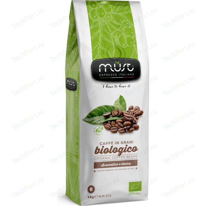 Кофе в зернах MUST BIOLOGICO 1000гр