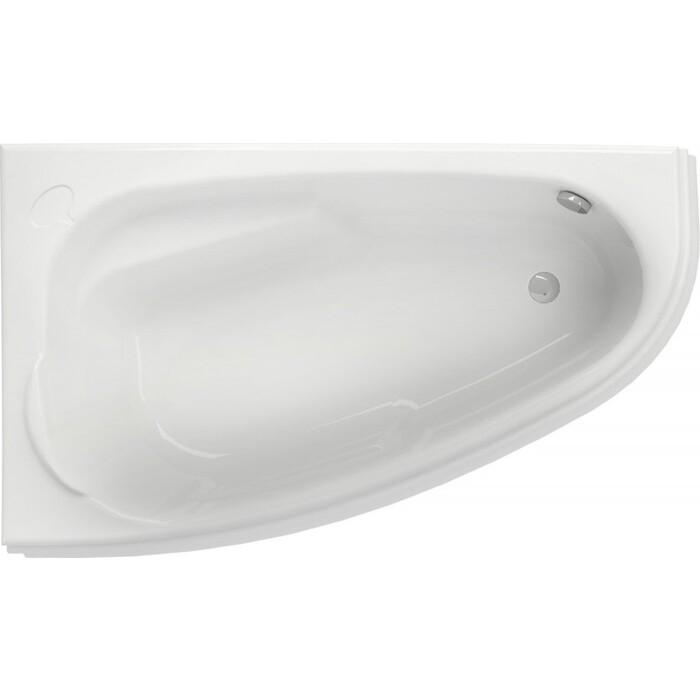 Акриловая ванна Cersanit Joanna 150х95 см, левая, ультра белая (WA-JOANNA*150-L-W)