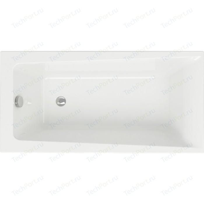Акриловая ванна Cersanit Lorena 140х70 см, ультра белая (WP-LORENA*140-W)