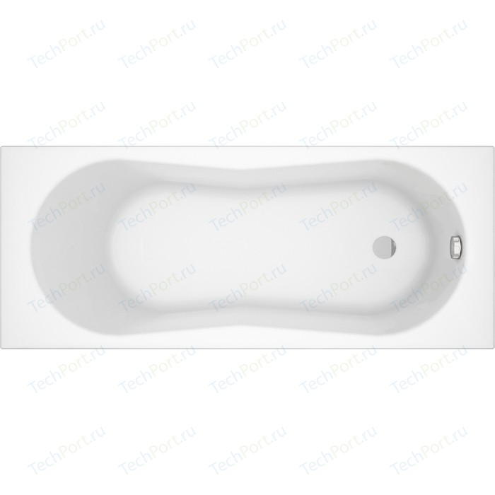 Акриловая ванна Cersanit Nike 150х70 см, ультра белая (WP-NIKE*150-W)