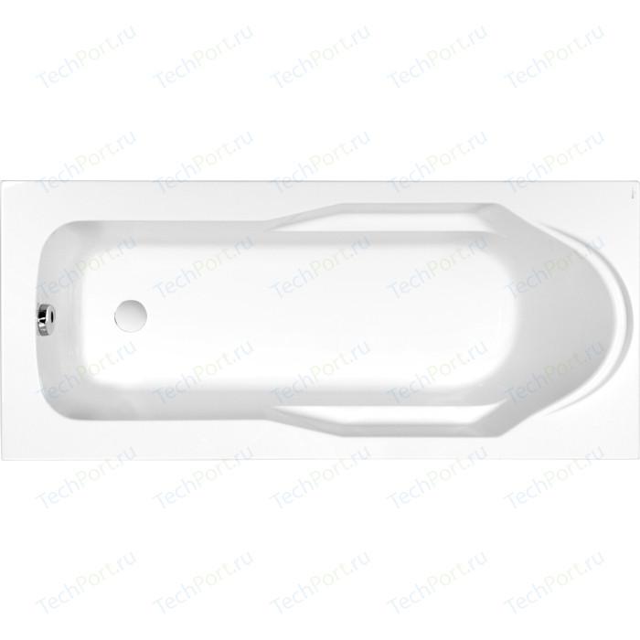 Акриловая ванна Cersanit Santana 170х70 см, ультра белая (WP-SANTANA*170-W)