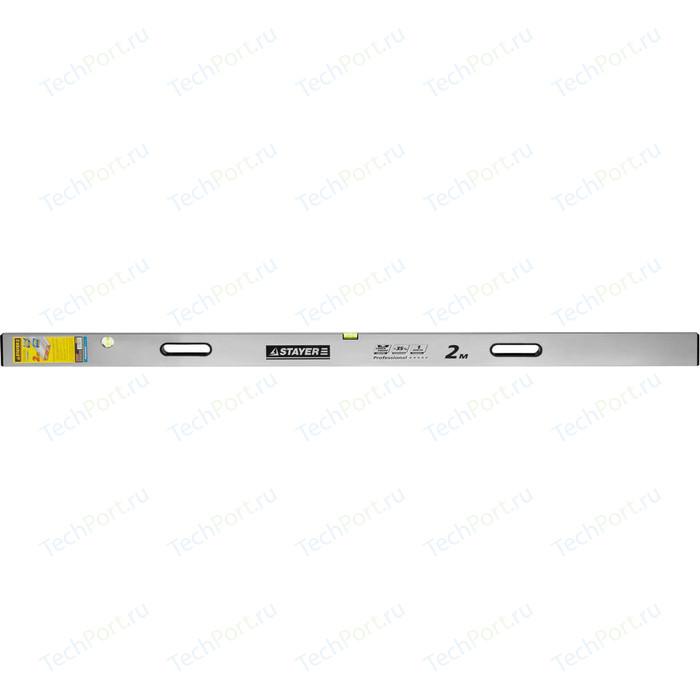 Правило-уровень Stayer с ручками Grand 2м Professional (10752-2.0)