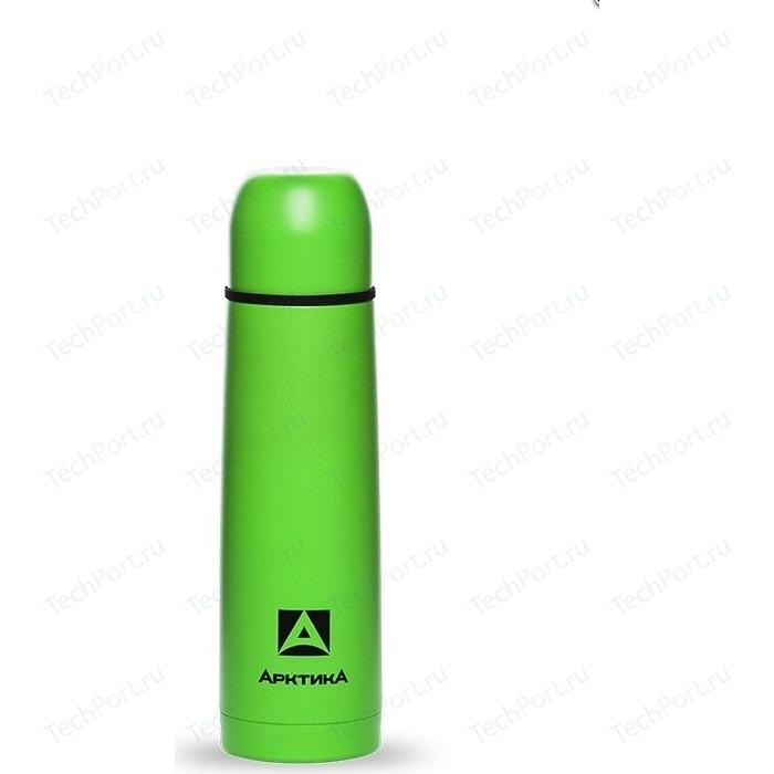 Термос питьевой 0.5 л Арктика (102-500 зеленый пластик)