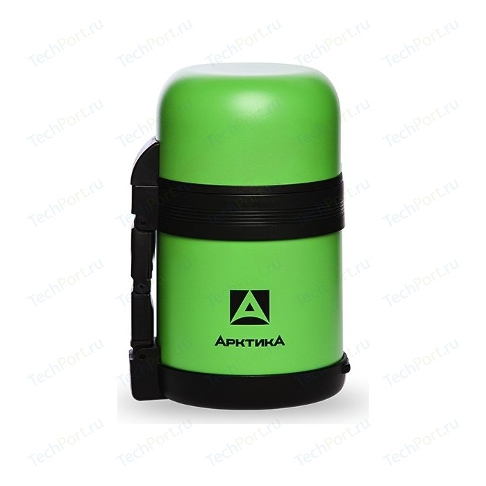 Термос питьевой 0.6 л Арктика (202-600 зеленый пластик)