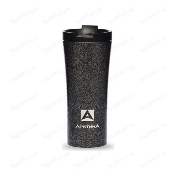 Термокружка автомобильная 0.5 л Арктика (410-500С черный молоток)