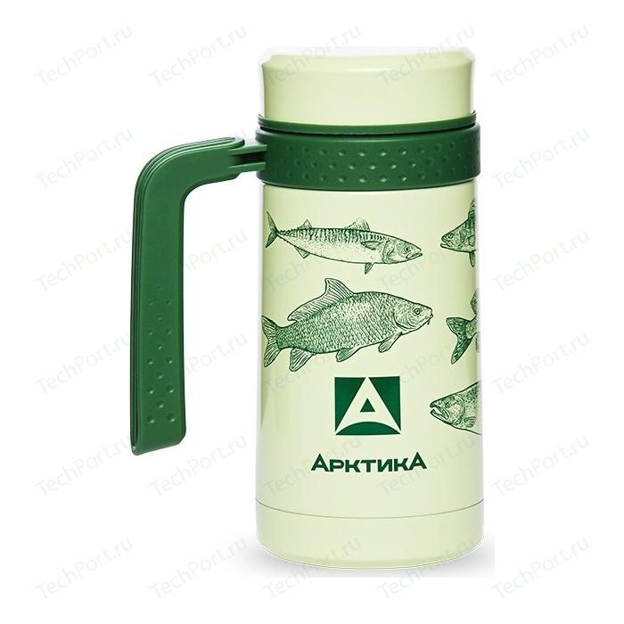 Термокружка автомобильная 0.5 л Арктика (412-500 зеленая) сумка холодильник арктика 13 5 л зеленая 4100 4
