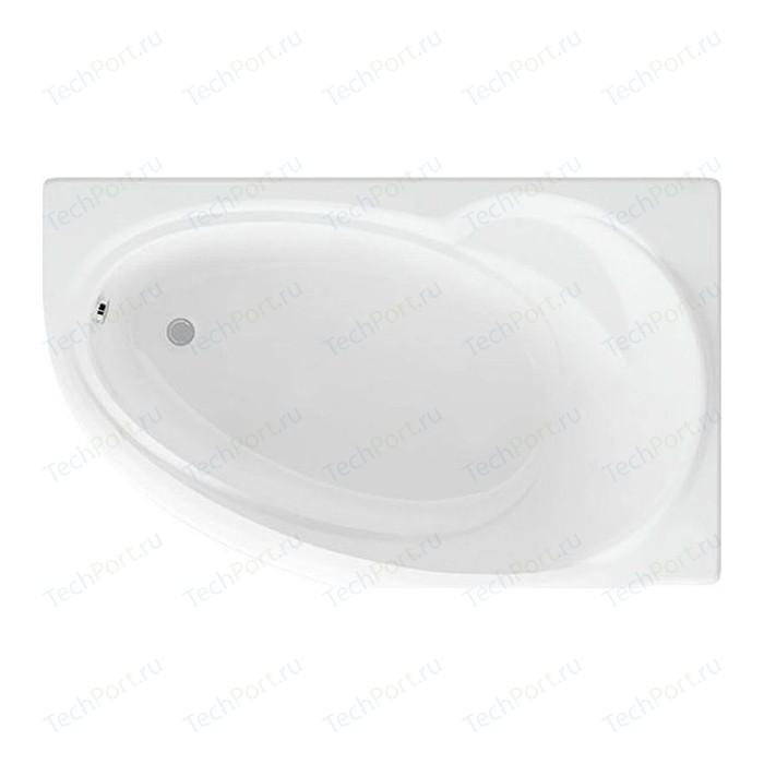 Акриловая ванна Aquatek Бетта 160х97 правая, фронтальная панель, каркас, слив-перелив (BET160-0000026)