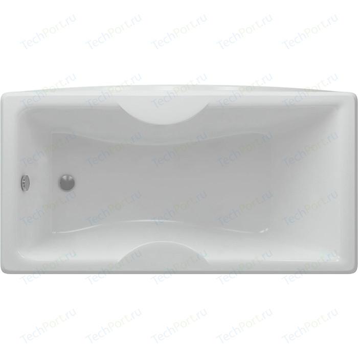 Акриловая ванна Aquatek Феникс 160х75 фронтальная панель, каркас, слив-перелив (FEN160-0000022)