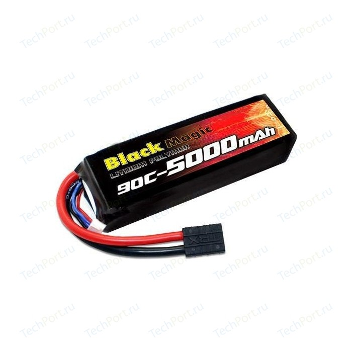Аккумулятор Black Magic 11.1V(3S) 5000mAh 90C Traxxas plug - BM-F90-5003D