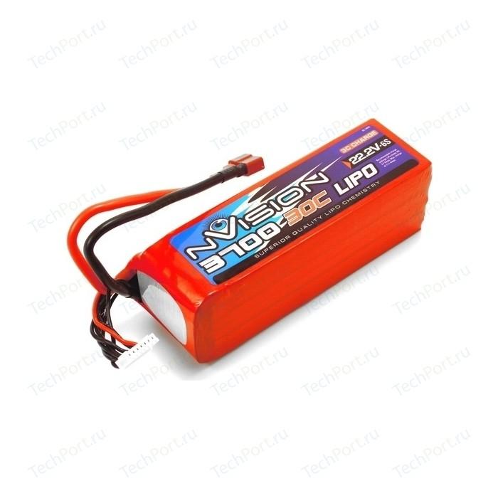 Аккумулятор nVision LiPo 22.2V 6S 30C 3700 mAh - NVO1817