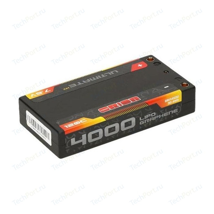 Аккумулятор Team Orion Batteries Ultimate Graphene HV Lipo 7.6 V (2s) 4000mAh 120C Hard Case Tubes - ORI14502