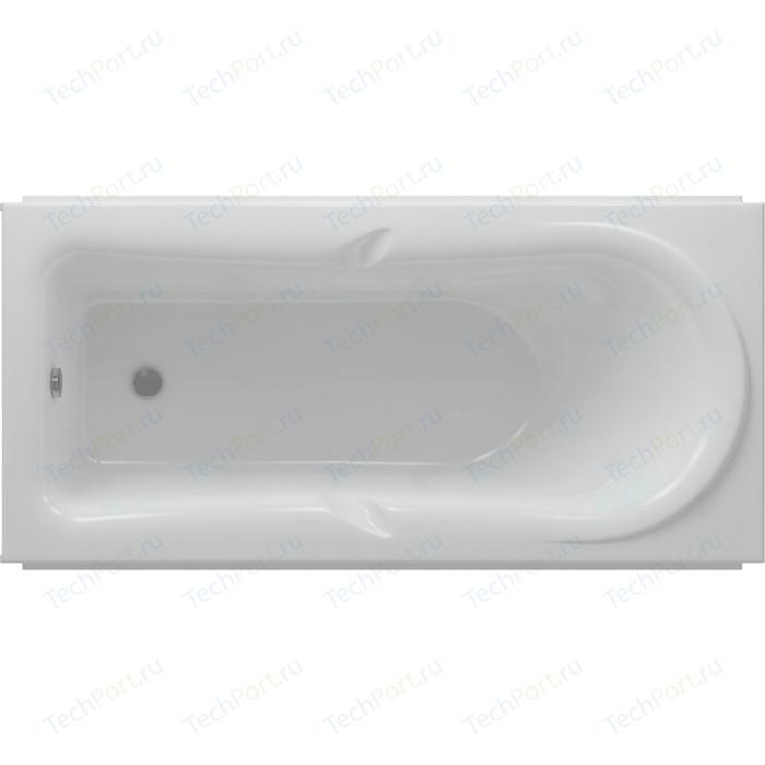 Акриловая ванна Aquatek Леда 170х80 фронтальная панель, каркас, слив-перелив (LED170-0000034)