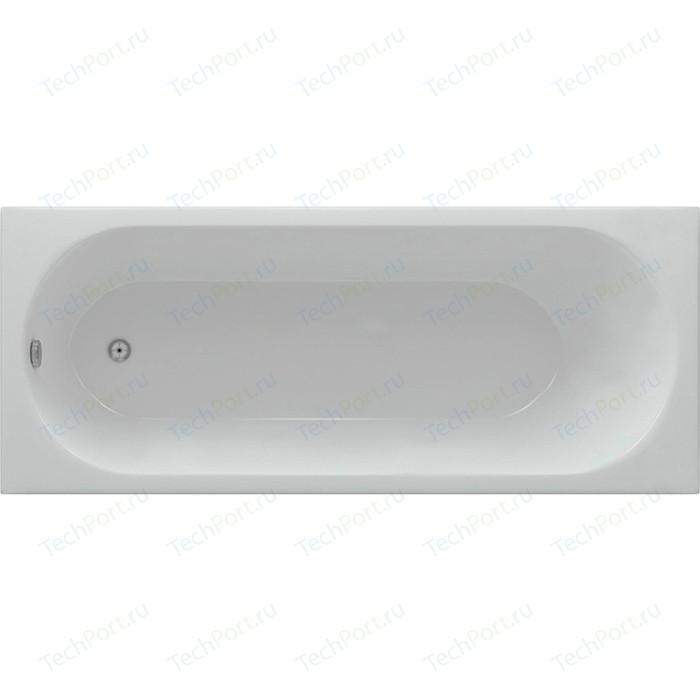 Акриловая ванна Aquatek Оберон 180х80 фронтальная панель, каркас, слив-перелив (OBR180-0000003) акриловая ванна aquatek альфа 140х70 фронтальная панель каркас слив перелив alf140 0000019