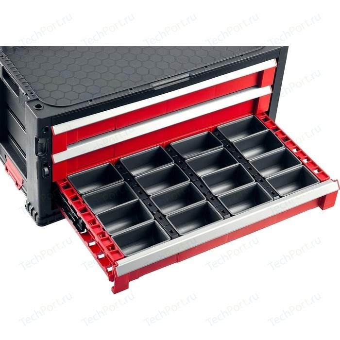 Ящик для инструментов Keter с 3 выдвижными полками Drawer-3, 22 (38381-3)