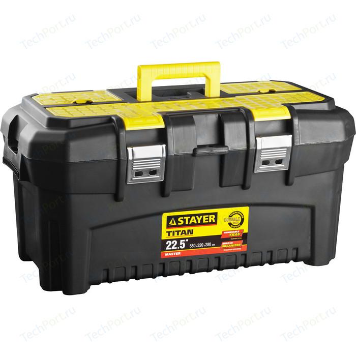 Ящик для инструментов Stayer Titan-22 пластиковый (38016-22)