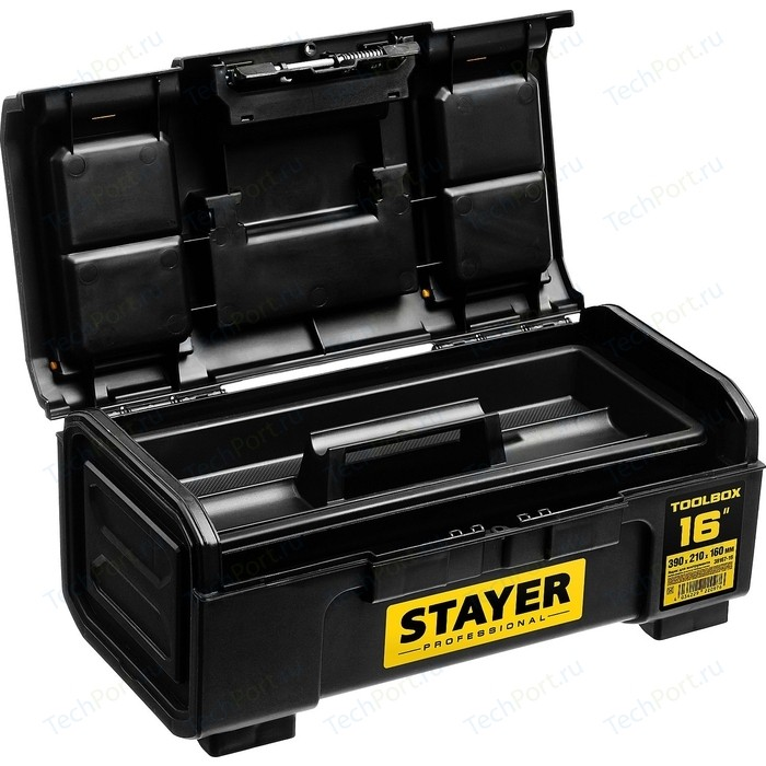 Ящик для инструментов Stayer Toolbox-16 пластиковый Professional (38167-16)