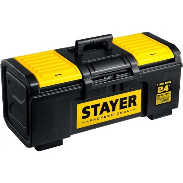 Ящик для инструментов Stayer Toolbox-24 пластиковый Professional (38167-24)