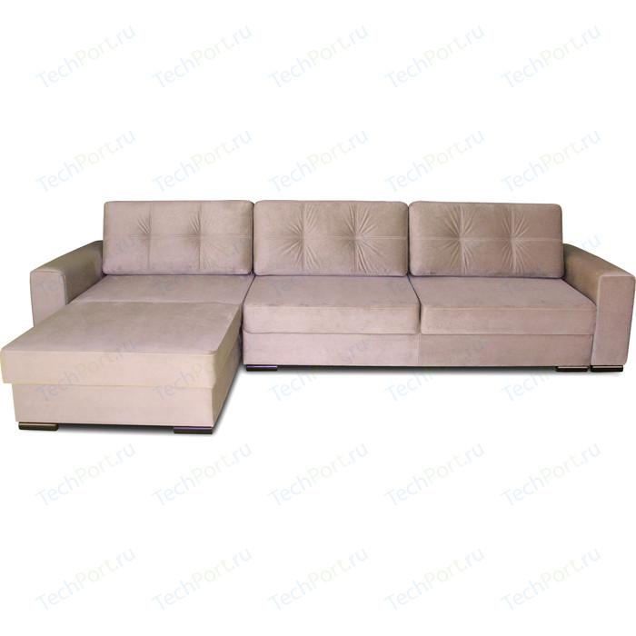 Угловой диван DИВАН Монблан левый Vital Caramel, 80358419